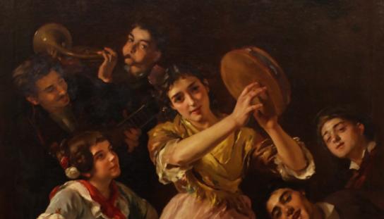¡Viva la Pepa! El Museu de Montserrat incorpora una de les darreres obres pintades per Simó Gómez