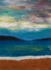 art, painting, abstact, nature, beach