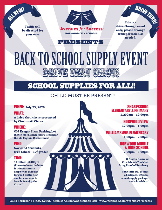 Back to School Supply Event!