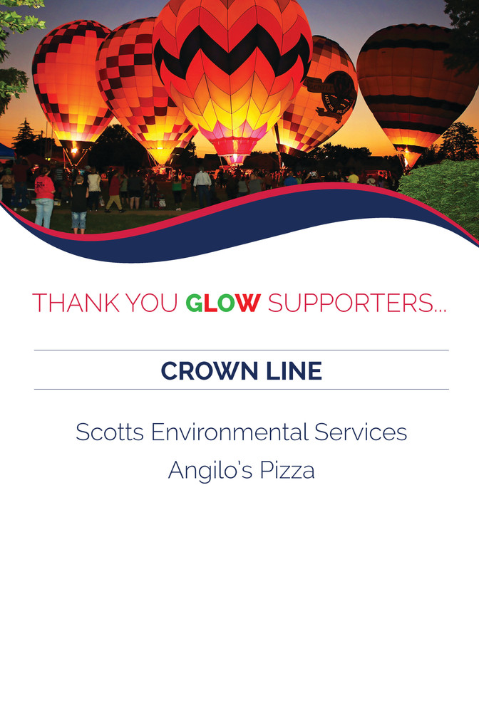 Avenues for Success® GLOW Thank You For Your Support - CROWN LINE