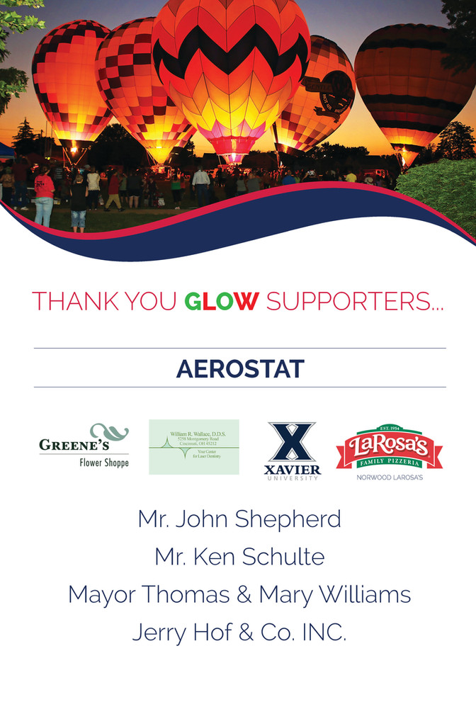 Avenues for Success® GLOW Thank You For Your Support - AEROSTAT