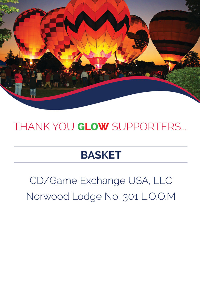 Avenues for Success® GLOW Thank You For Your Support - BASKET