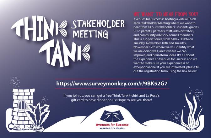 Think Tank Stakeholder Meeting