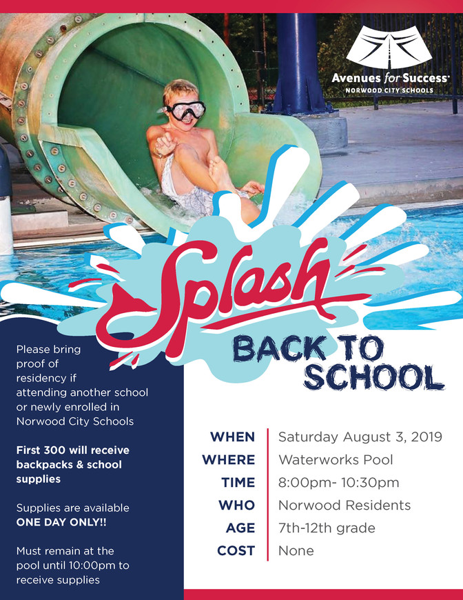 Splash Back to School with Avenues for Success®