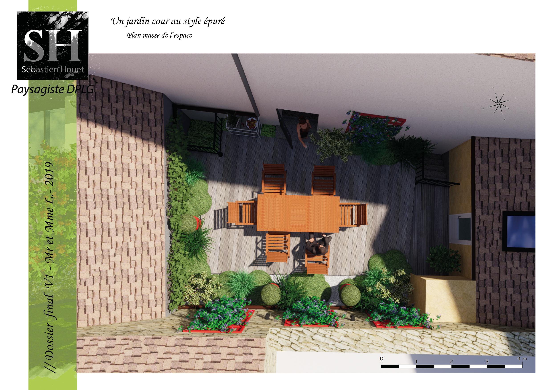 Le jardin cour // 2019