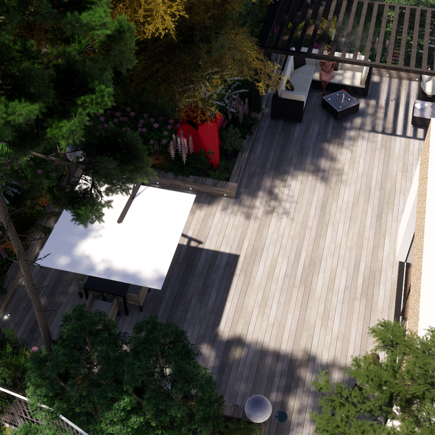 Jardin terrasse