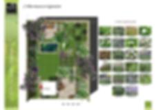 Conception de jardin - Plan champêtre - Palette végétale