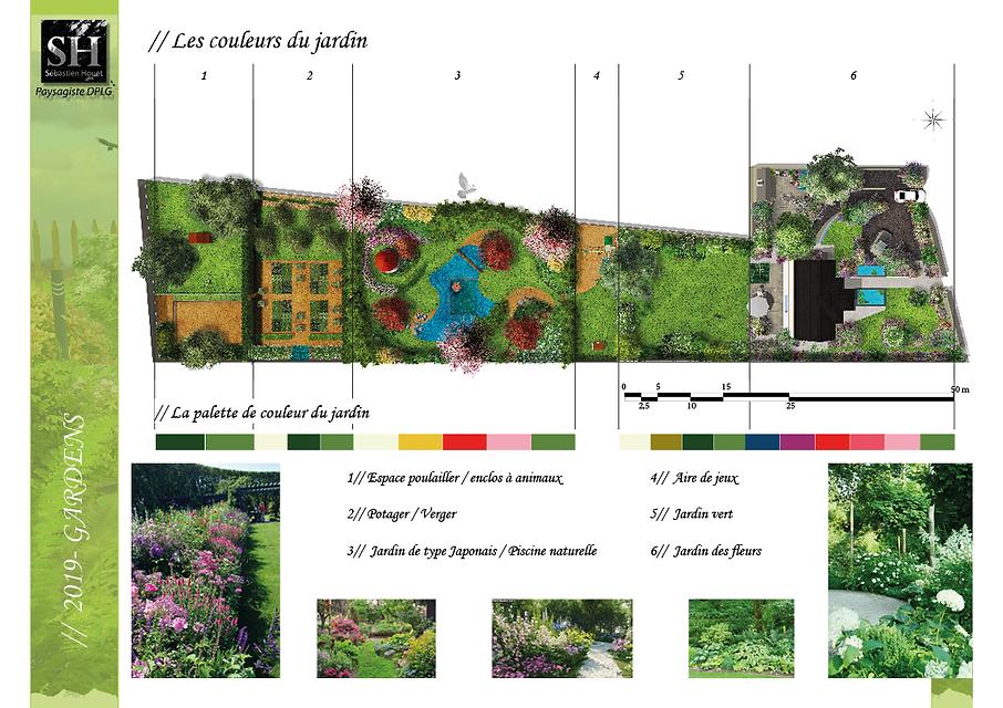 Conception de jardin à thème