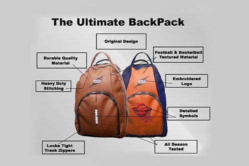 Football/Basketball Fabric Backpacks (Spring 2015)