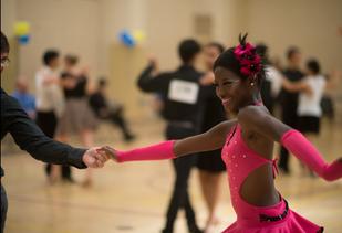 Latin Ballroom Dancesport Competition
