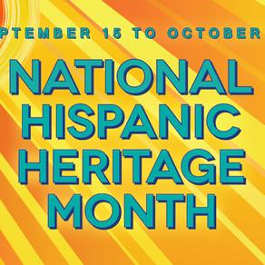 National Hispanic Heritage Month Playlist