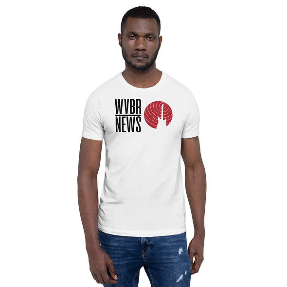 Black WVBR News Unisex T-Shirt (multiple colors available)