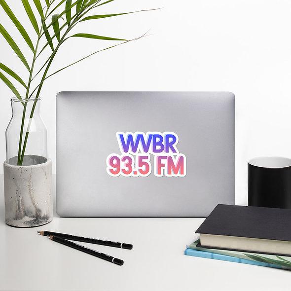 90s WVBR Sticker (multiple sizes available)