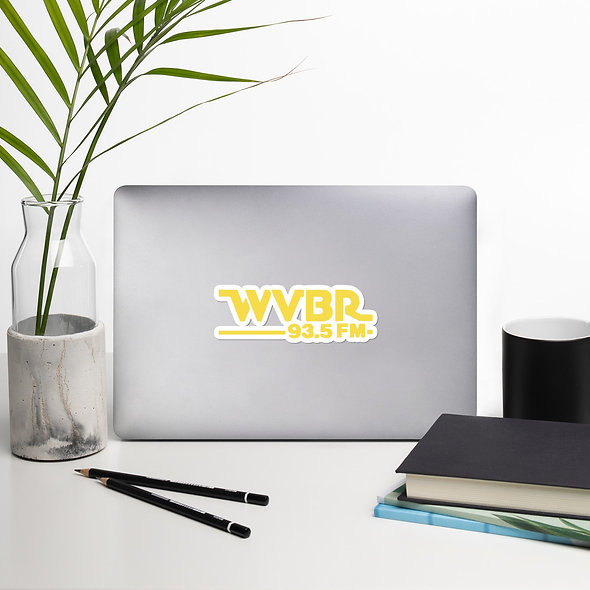 Retro WVBR Vinyl Sticker (multiple sizes available)