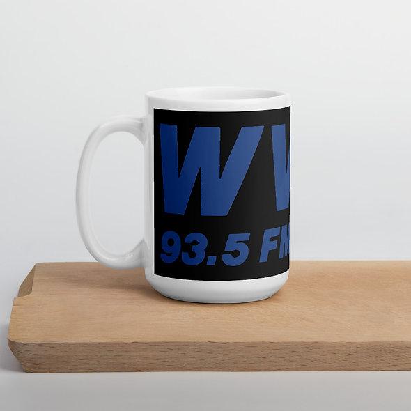 Blue WVBR Logo Mug