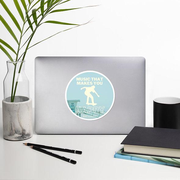 Bert Li Beach Sticker (multiple sizes available)