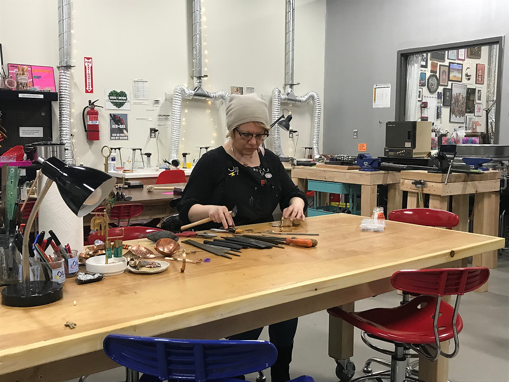 Elaan Greenfield: Creatix at The Metal Smithery