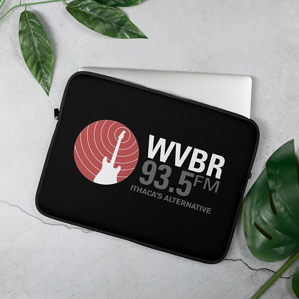 WVBR Logo Laptop Sleeve (2 sizes available)