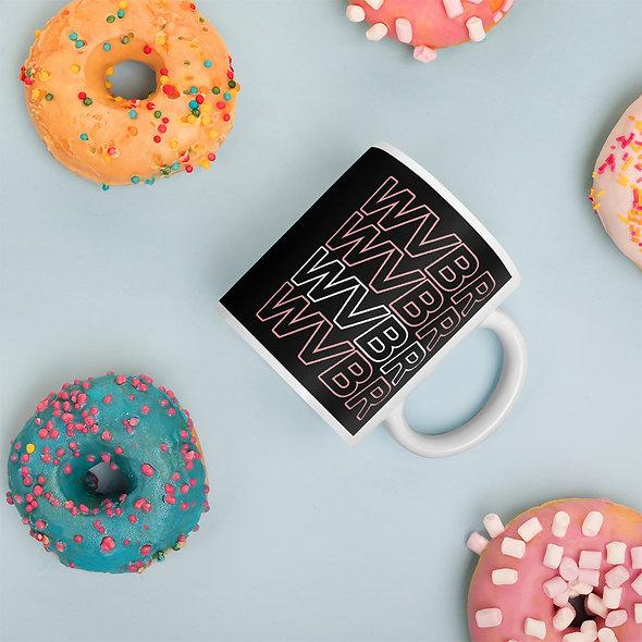 WVBR Outline Mug