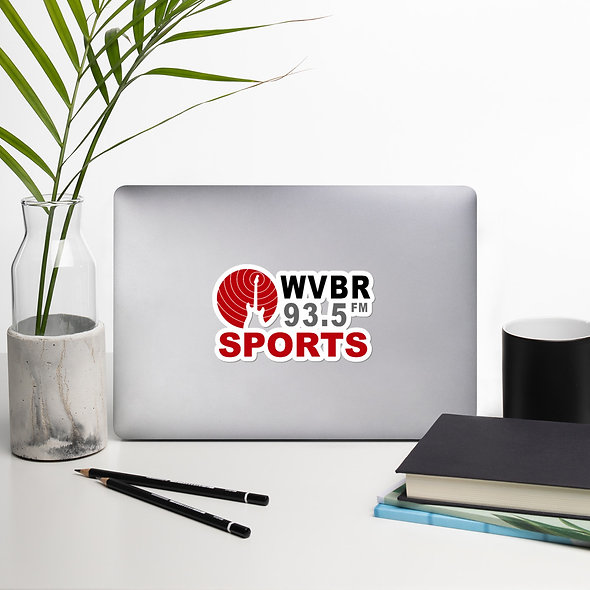 WVBR Sports Sticker (multiple sizes available)