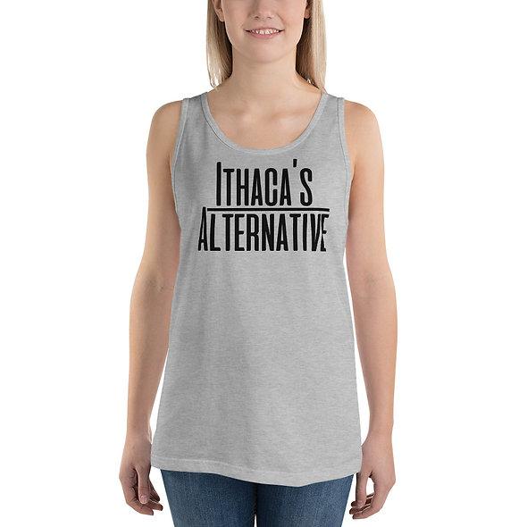 Black Ithaca's Alternative Unisex Tank Top (multiple colors available)