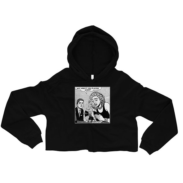 WVBR Popart Crop Hoodie (multiple colors available)