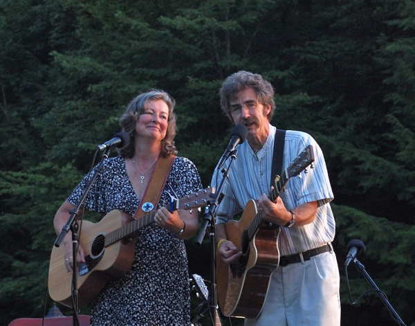 Peggy Lynn and Dan Duggan are performing this weekend on WVBR's Bound for Glory.