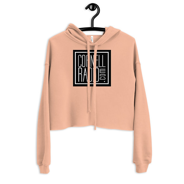 CornellRadio.com Crop Hoodie (multiple colors available)