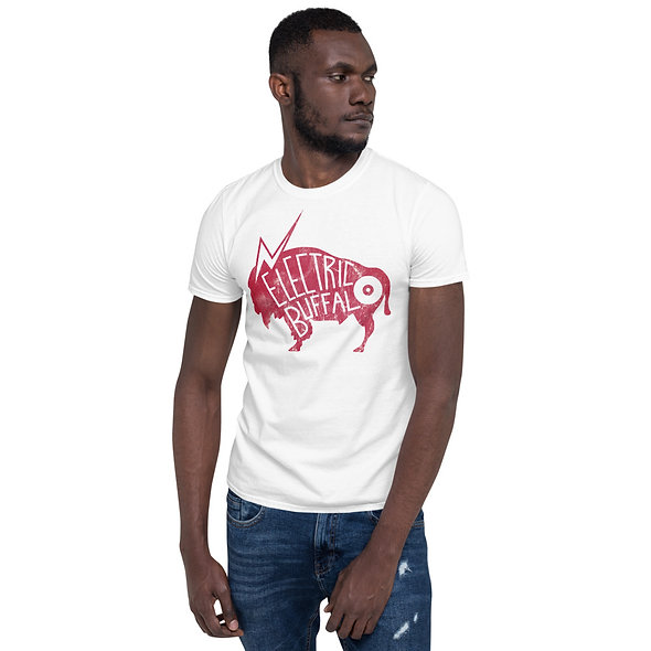 Red Electric Buffalo Records Unisex T-Shirt (multiple colors available)