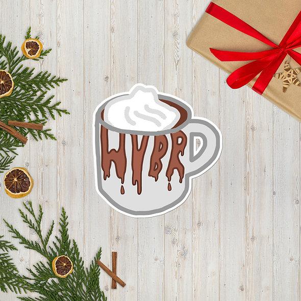 WVBR Hot Chocolate Sticker (multiple sizes available)