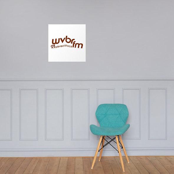 Wavy WVBR Poster