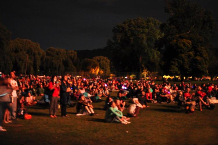 Fireworks @ Stewart Park