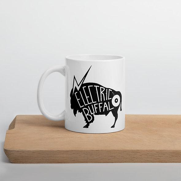 Electric Buffalo Records Logo Mug