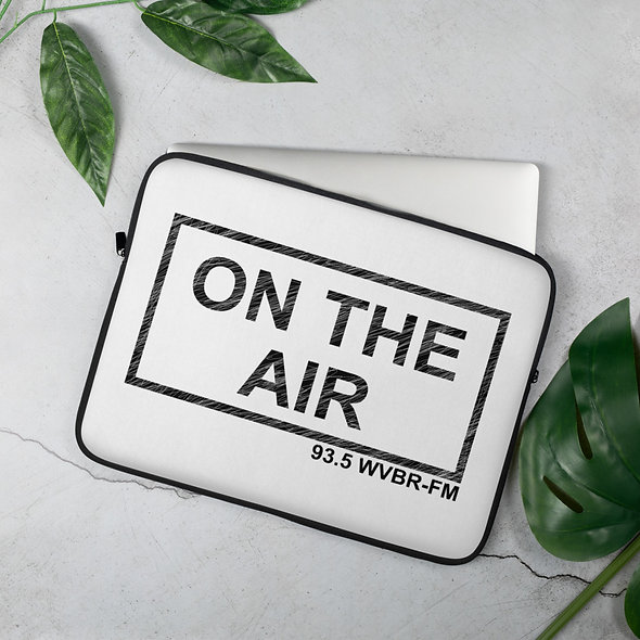 ON THE AIR Laptop Sleeve (2 sizes available)