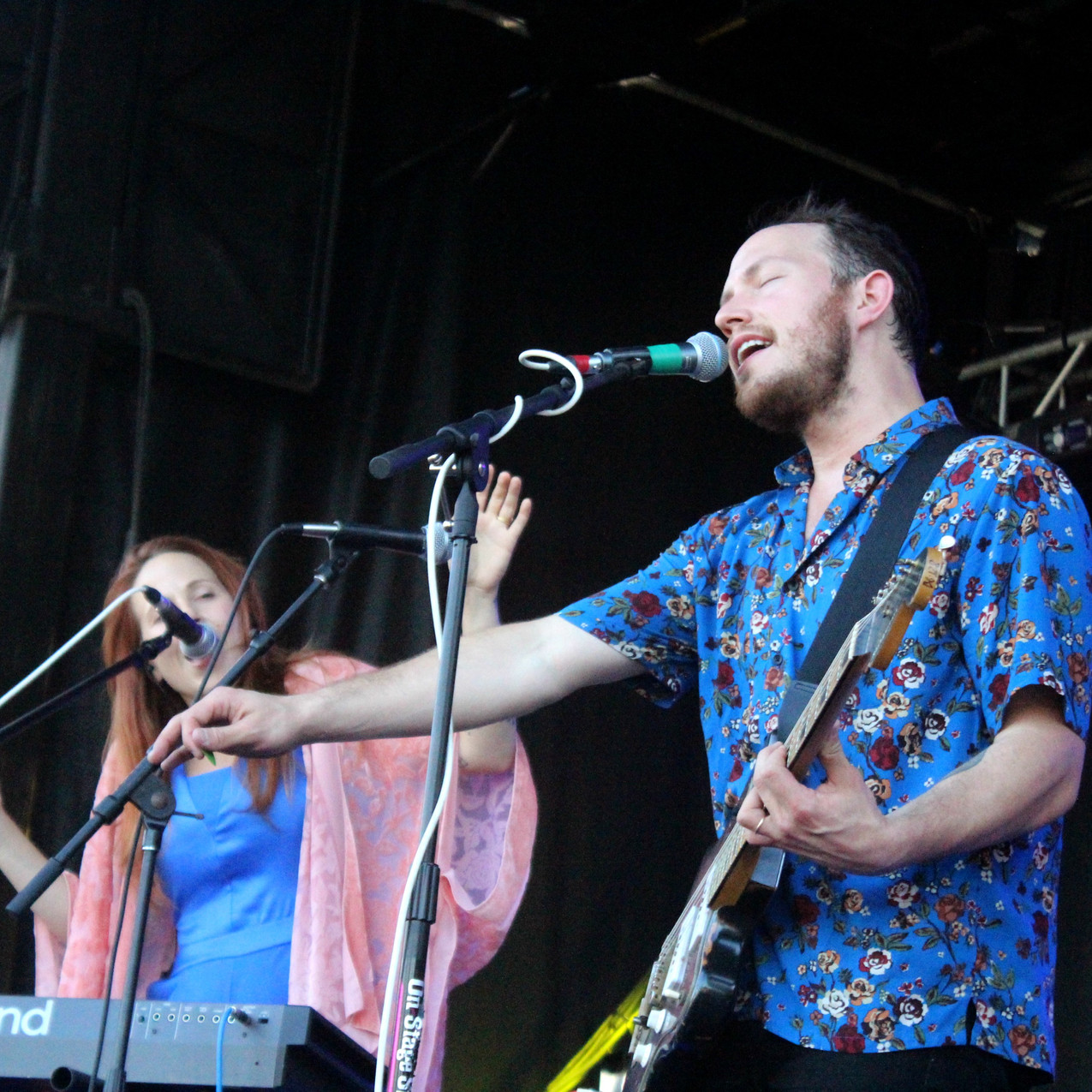 Brooklyn based Savoir Adore onstage at Cayuga Sound