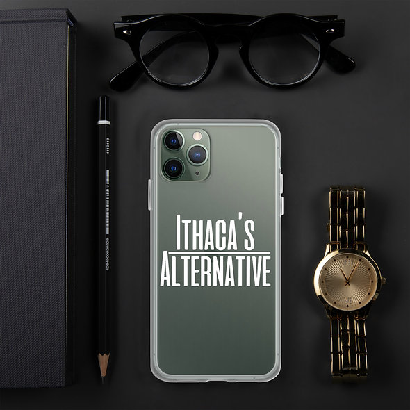 White Ithaca's Alternative iPhone Case