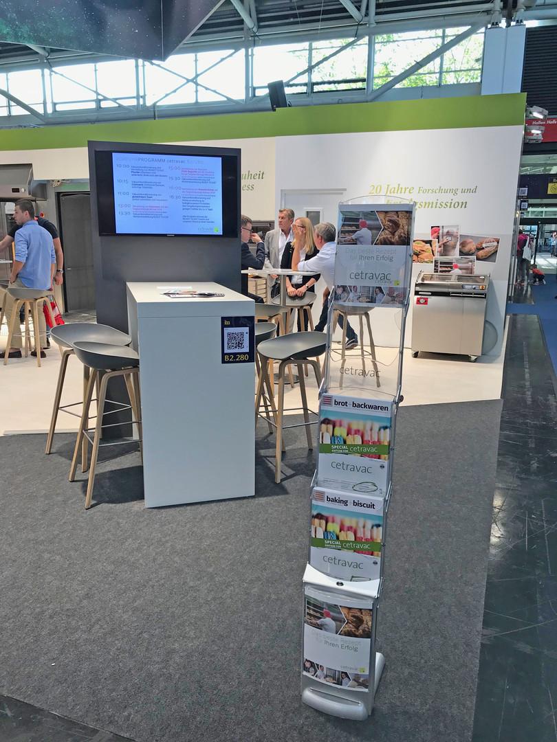 iba München 2018, Standgestaltung für cetravac