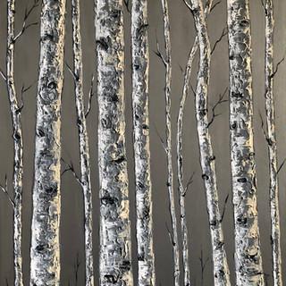 Monochromatic Birches