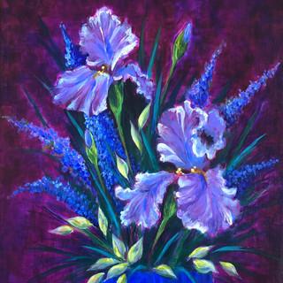 Irises for Bernice