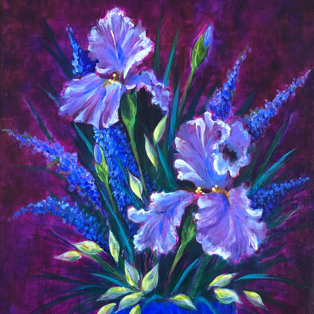 Irises for Bernice