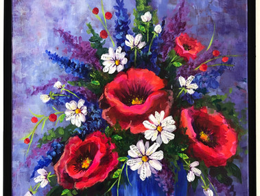 Three Life Lessons From a Poppy Painting