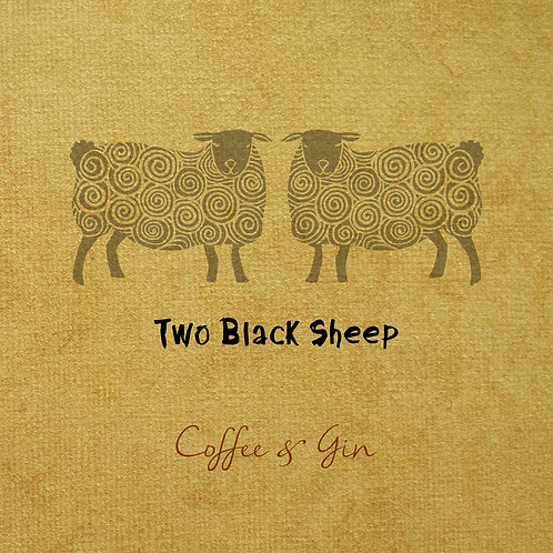 """Coffee & Gin""  - Our debut album.   (FREE SHIPPING EU)"