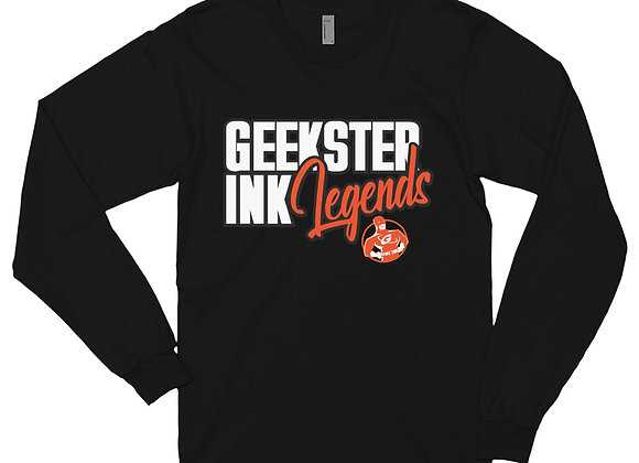 GeeksterInk Legends- Long sleeve t-shirt