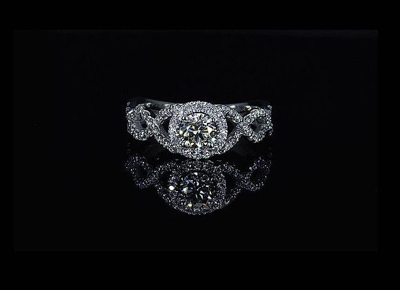 טבעת יהלומים Eternity