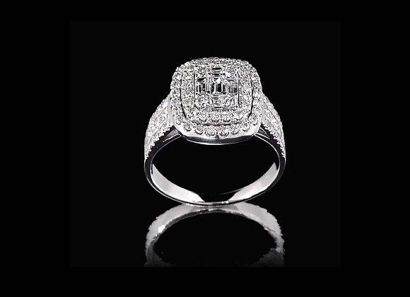 טבעת יהלומים מרלין