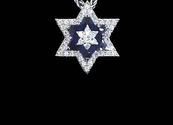 שרשרת מגן דוד  SAPIR