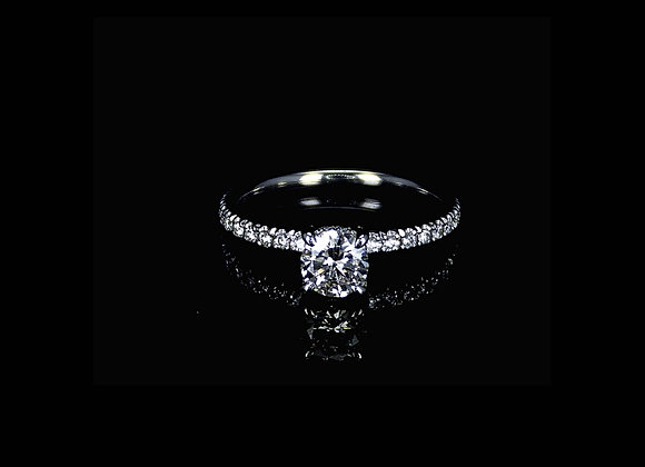טבעת יהלומים ROSALIA