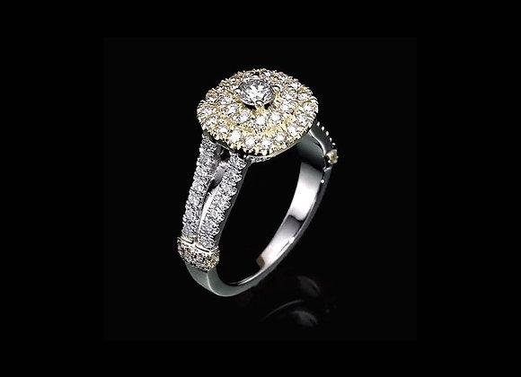 טבעת יהלומים SUNRISE
