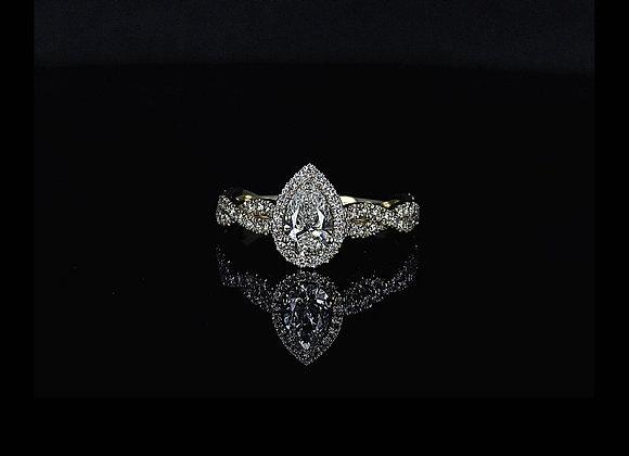 טבעת יהלומים ג'יין