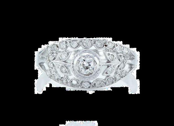 טבעת יהלומים בלוסום